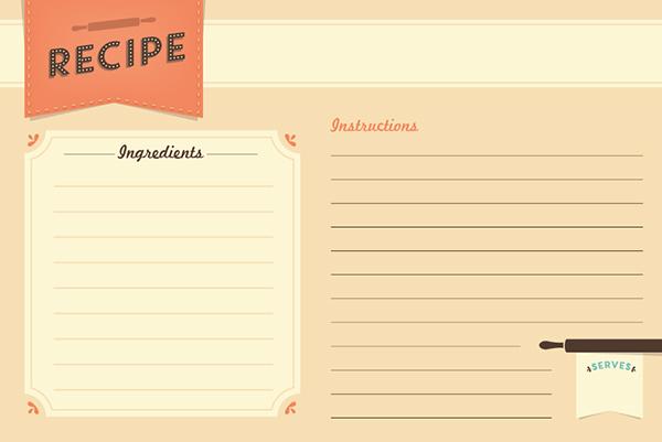 Freebie: Recipe Card Printable | Every-Tuesday