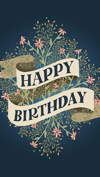 Freebie: Birthday Card