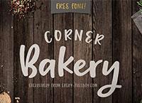 Freebie: Corner Bakery Font