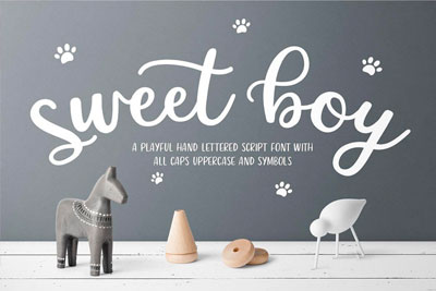 Learn Font Making Project by: Modest Designary