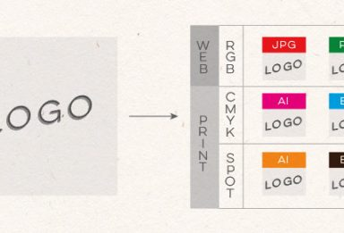 how to save logo files for print and web