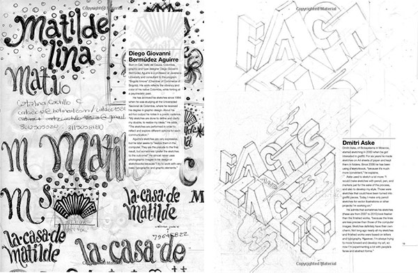 typography sketchbooks preview