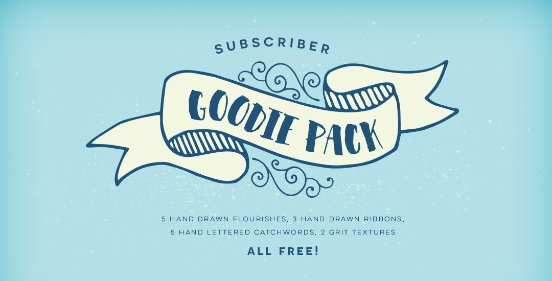 subscriber goodie pack