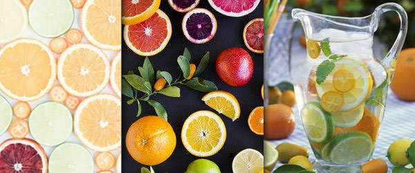 citrus color inspiration