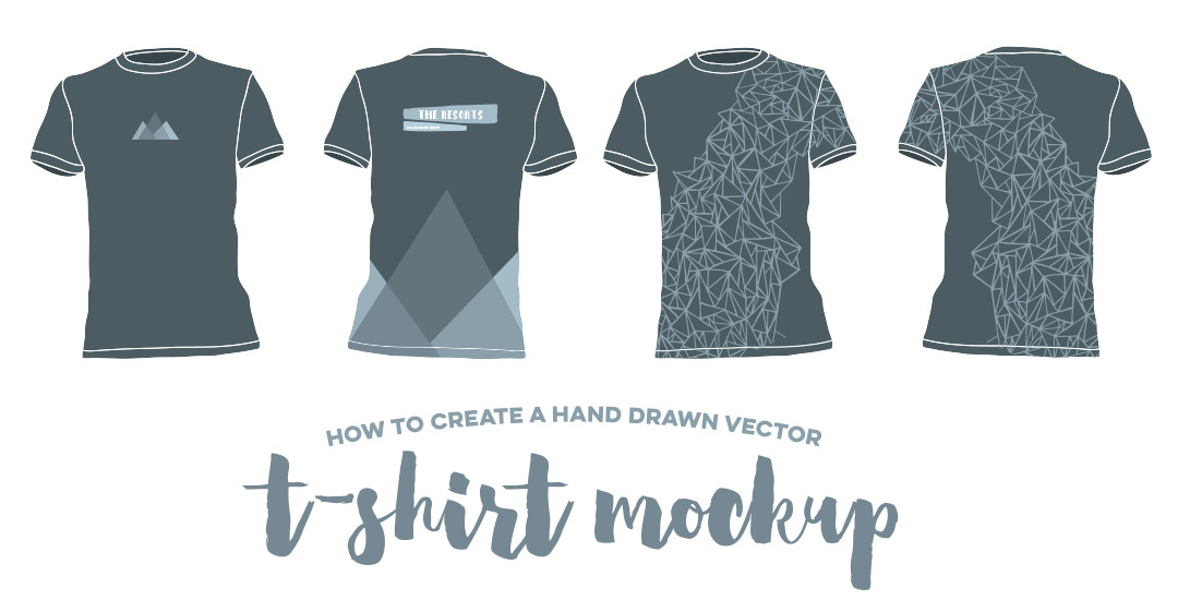create a photoshop tshirt mockup every tuesday