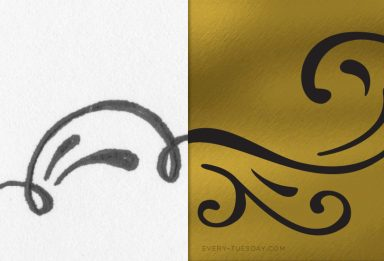 how to vectorize hand drawn doodles