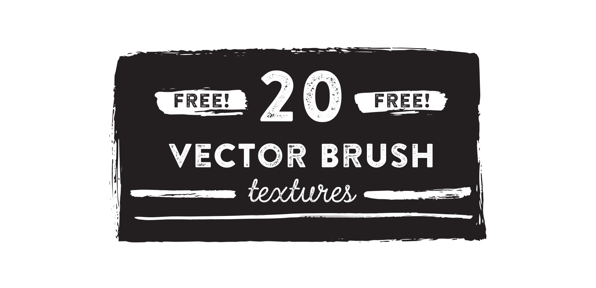 free vector brush textures