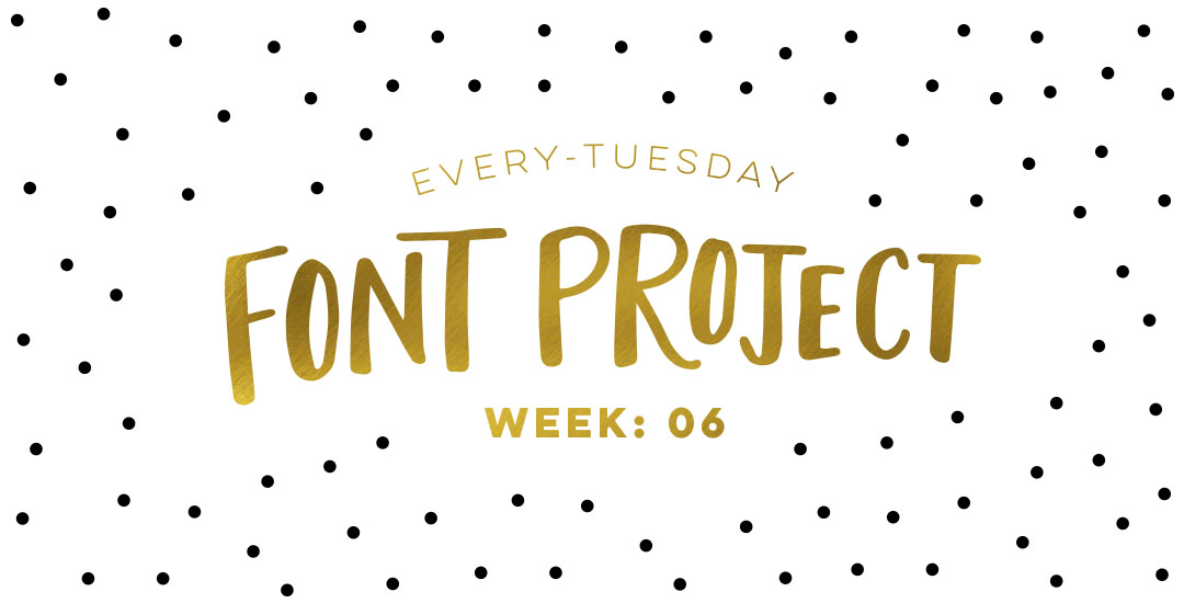Every tuesday font project week 6 stopboris Image collections