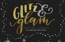Glitz and Glam Foil Kit