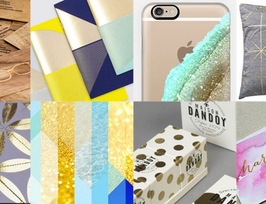 Digital Foil and Glitter Inspiration for Your Designs
