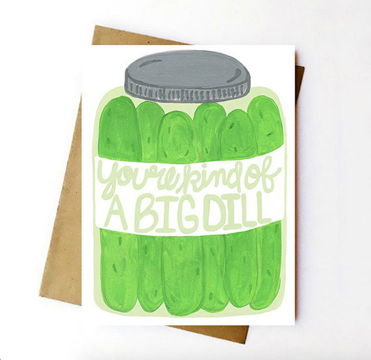 kind of a big dill