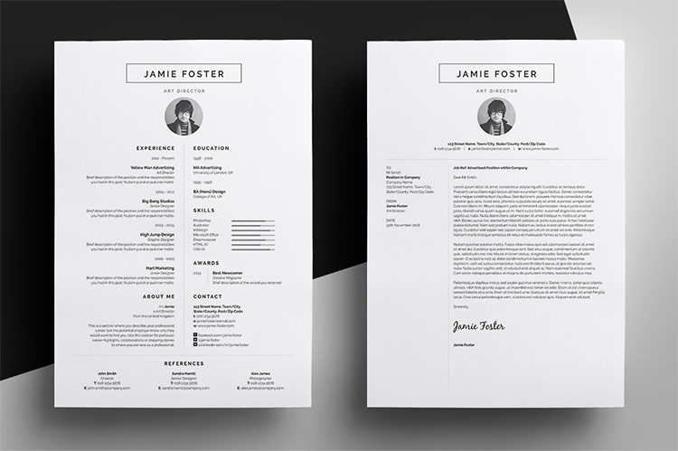 Roundup 5 Clean and Creative Resume Templates EveryTuesday