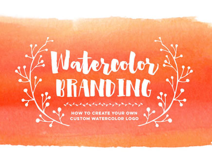 Watercolor Branding