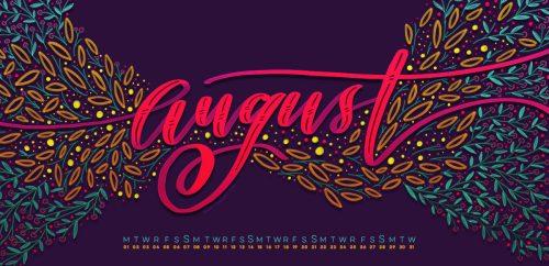 Freebie: August 2016 Desktop Wallpapers