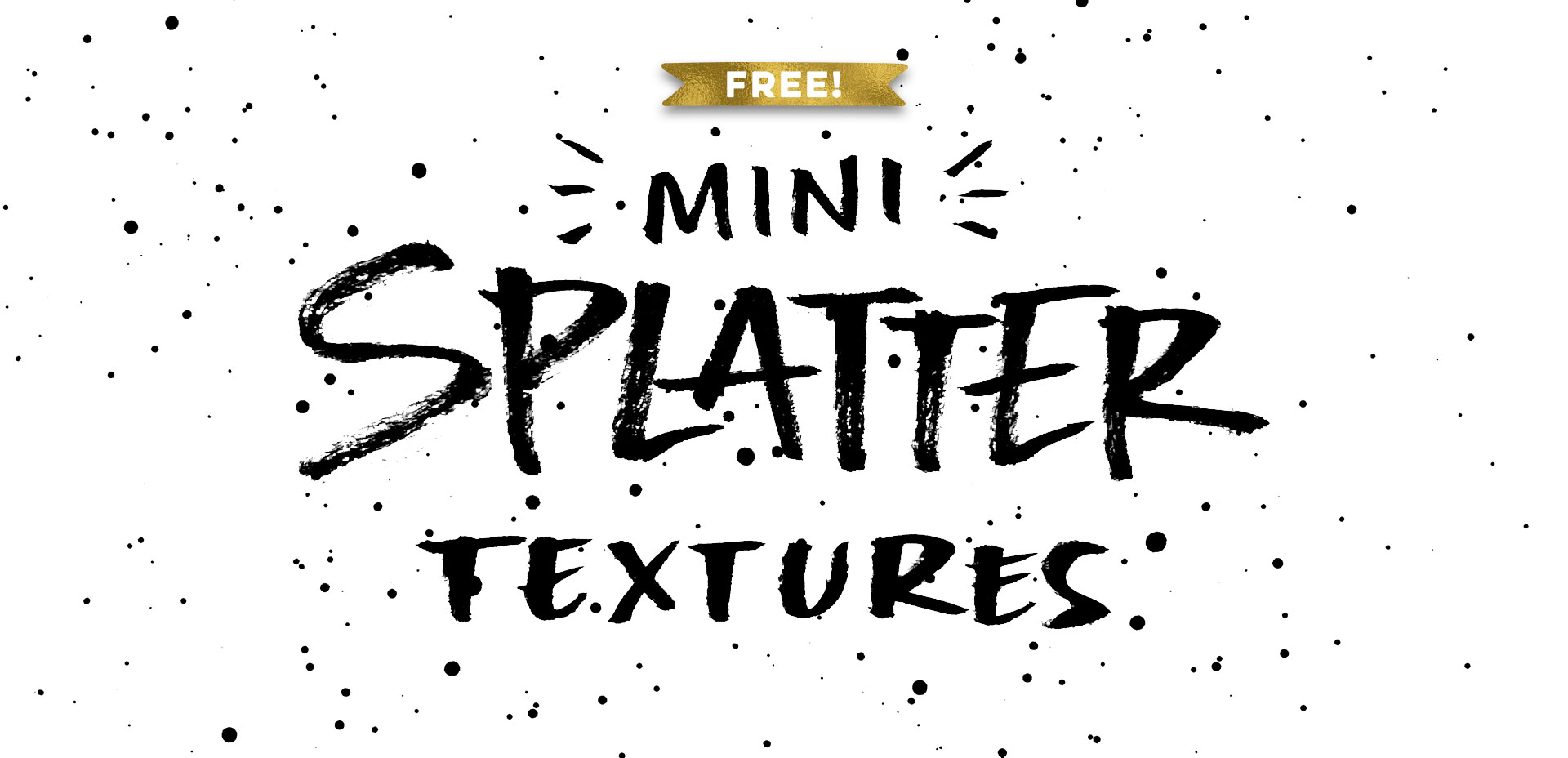 freebie: mini ink splatter textures