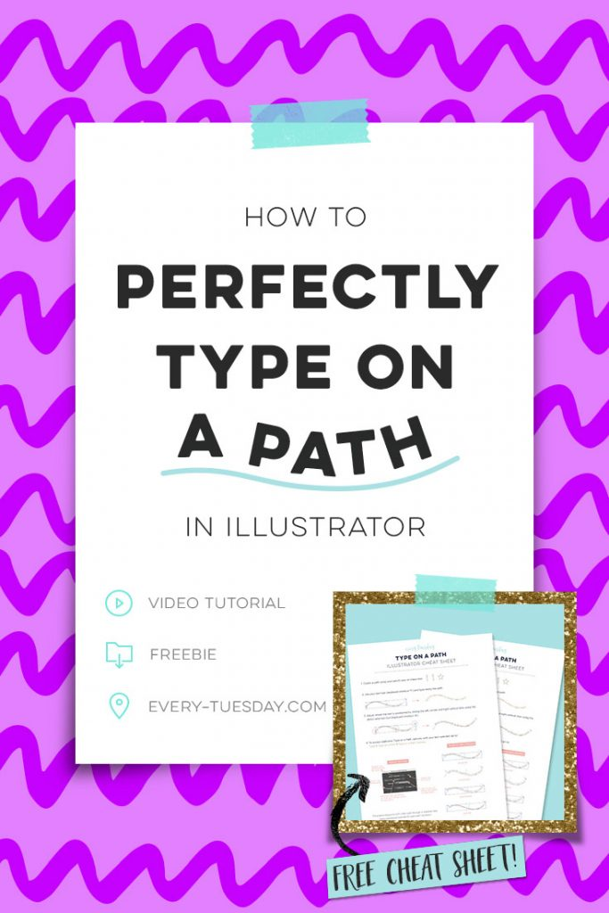perfectly type on a path in illustrator