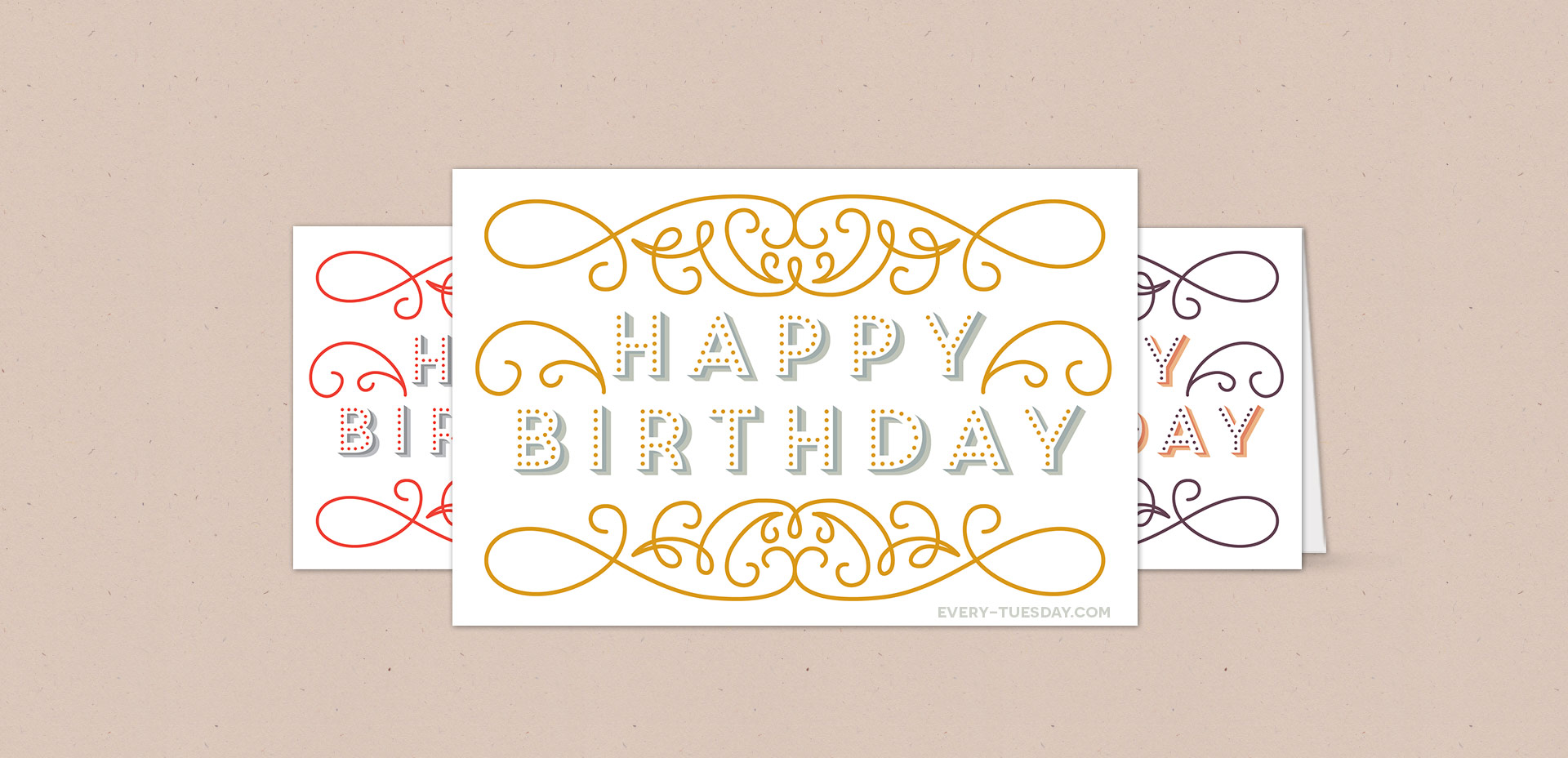 free birthday card printable
