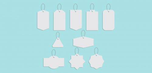 freebie: clothing tag vector shapes