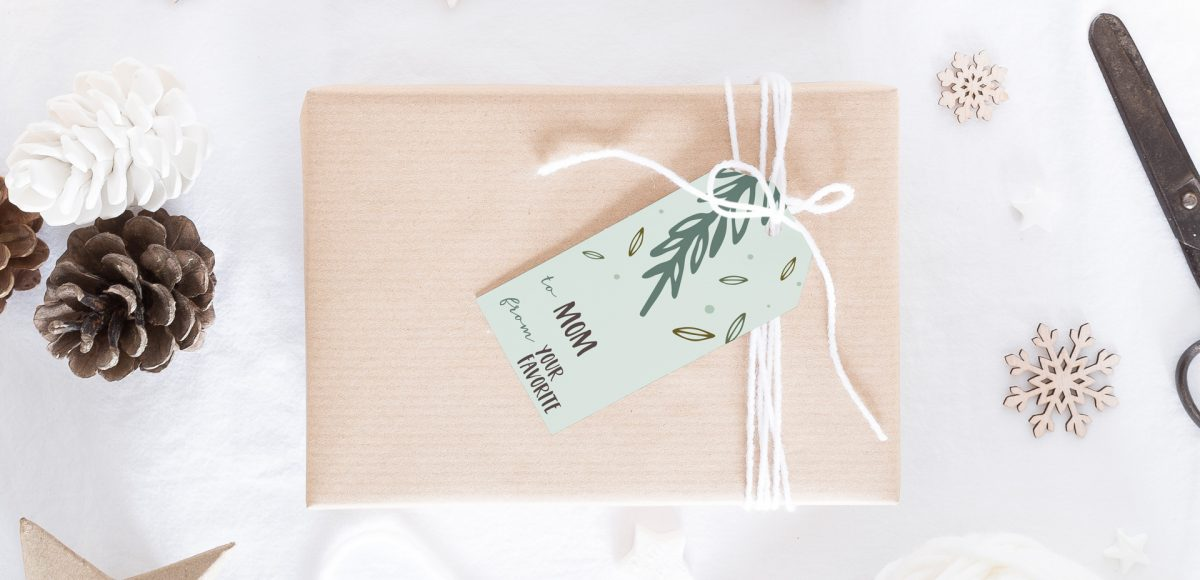 holiday gift tags in adobe illustrator