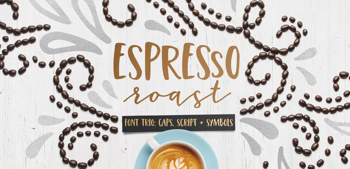 the making of the espresso roast font trio