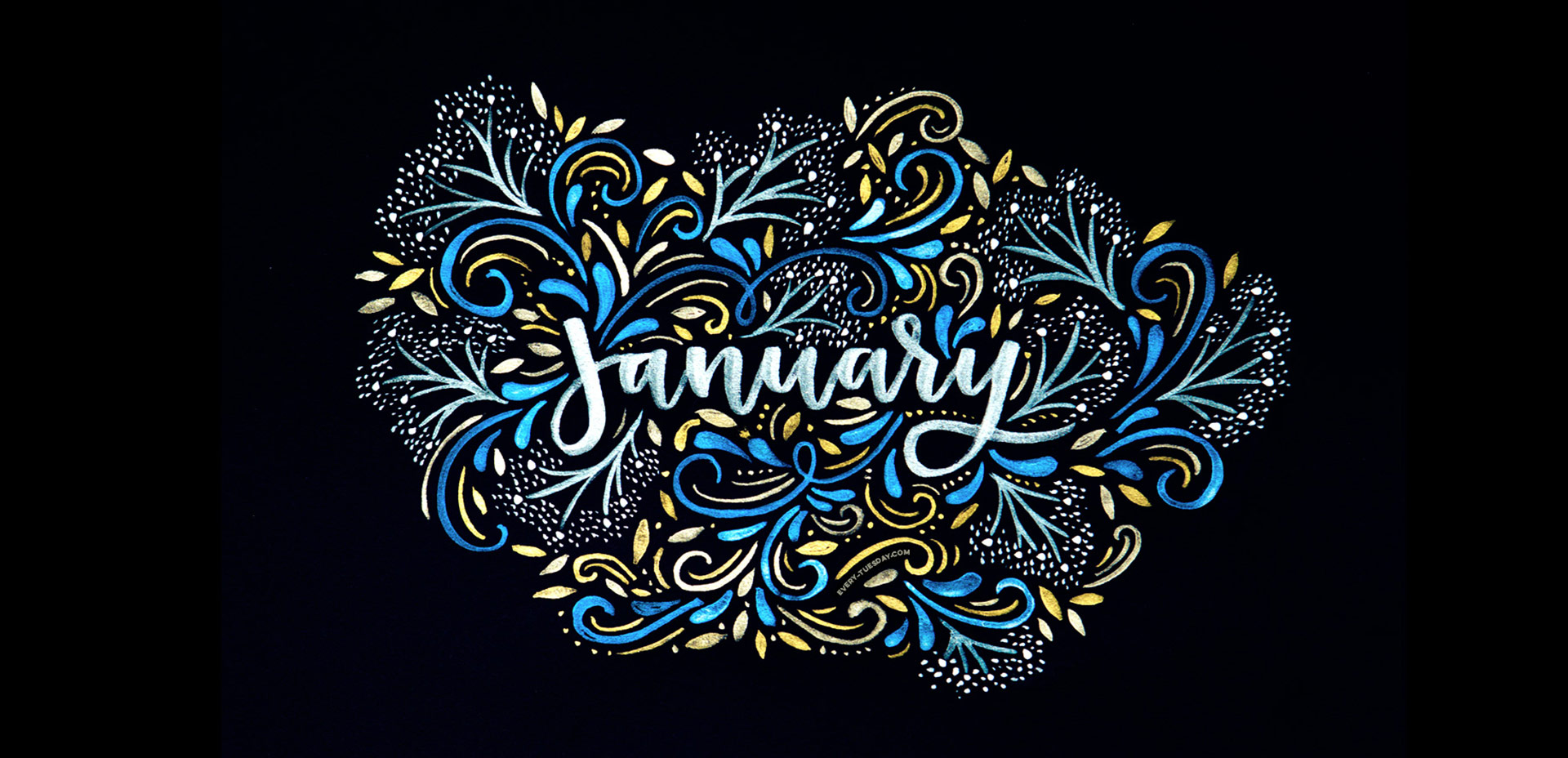 Freebie: January 2017 Desktop Wallpapers  EveryTuesday