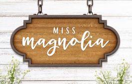Miss Magnolia Font