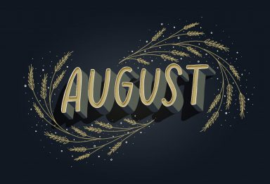 freebie: August 2018 Desktop Wallpapers