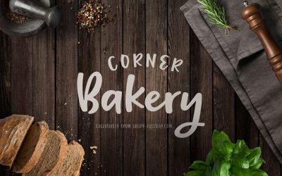 Corner Bakery Font