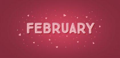 Freebie: February 2019 Desktop Wallpapers