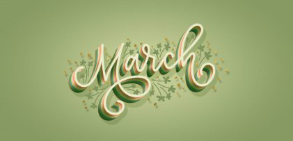 Freebie: March 2019 Desktop Wallpapers