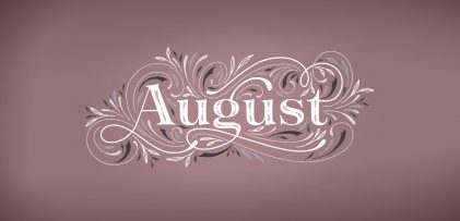 Freebie: August 2019 Desktop Wallpapers